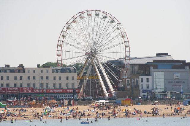 Ferris Wheel and Margate Beach