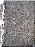 SJ1662 : Moel Famau Jubilee Tower Hieroglyphs by John S Turner