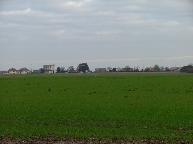 Open Field to Queen Berthas Estate