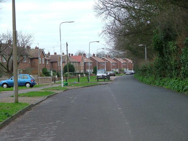 Lane into Birchington