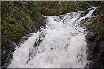J3996 : Glenoe waterfall (7) by Albert Bridge