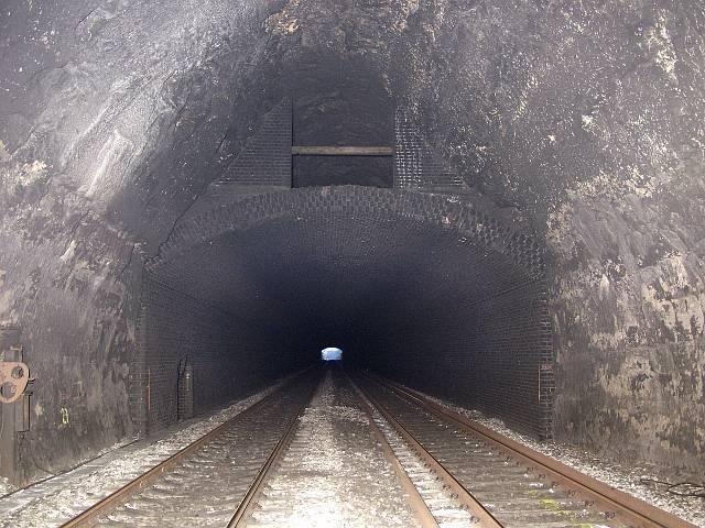 Inside Box Tunnel
