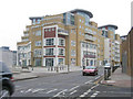 TQ2676 : New office block, Lombard Road, Battersea by Stephen Craven