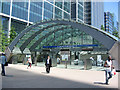 TQ3780 : Entrance to Canary Wharf Underground Station by Oast House Archive