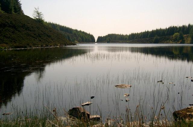 The north end of Loch Garbad, Arran