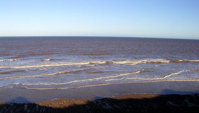 The Beach and Sea south of Aldbrough