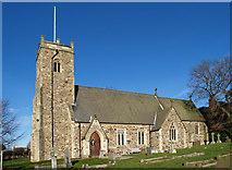 TA1345 : Church of St. Michael - Catwick by David Wright