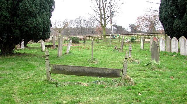 St Leonard, Old Warden, Beds - Churchyard