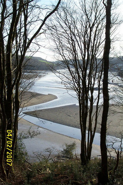 Confluence of Rivers Lerryn and Fowey