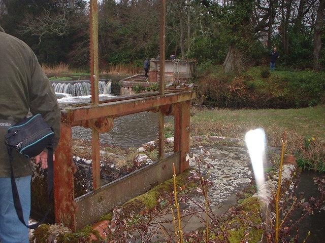 Sluice Gate on River Piddle