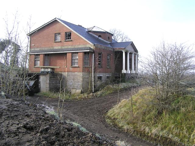 Abandoned house, Omagh by Kenneth  Allen