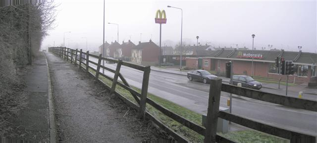 Old Dromore Road, Omagh by Kenneth  Allen