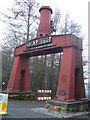 NZ2253 : Entrance to Beamish North of England Open Air Museum by brian clark