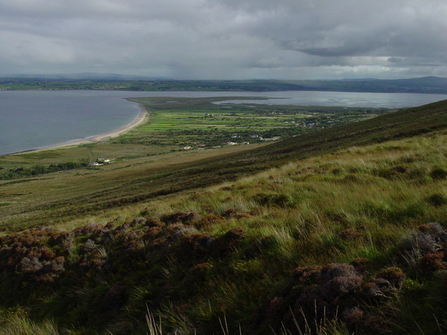 On the lower slopes of Gearhane, Slieve Mish