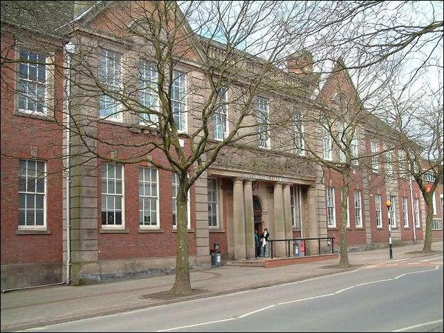 Staffordshire University, College Road, Stoke