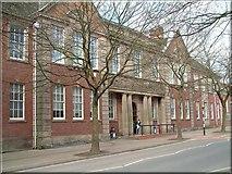 SJ8745 : Staffordshire University, College Road, Stoke by Steven Birks