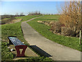 TQ2891 : Footpath on land adjoining the Friern Bridge Trading Estate, N11 by Christine Matthews