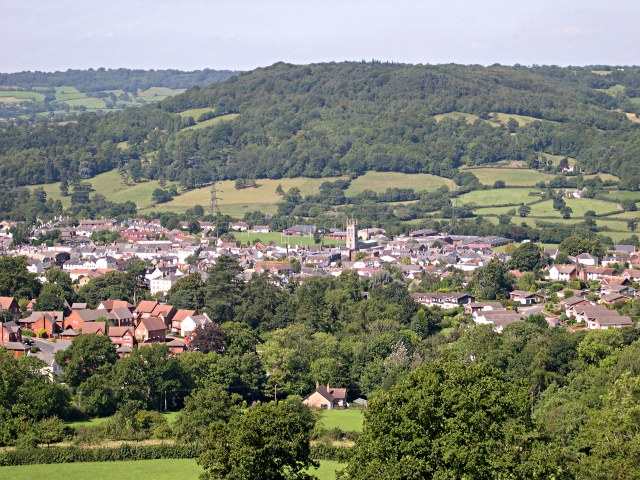 Honiton from the south east