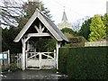 TR2157 : Littlebourne Church Lych Gate by Nick Smith
