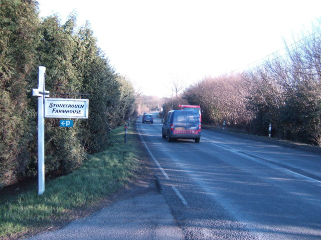 A21 heading for Hastings