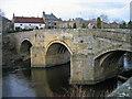 NU1800 : Felton Old Bridge by Les Hull