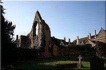 SK7053 : Archbishop's Palace ruins by Richard Croft