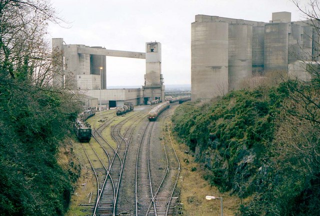 Platin Cement Works near Drogheda