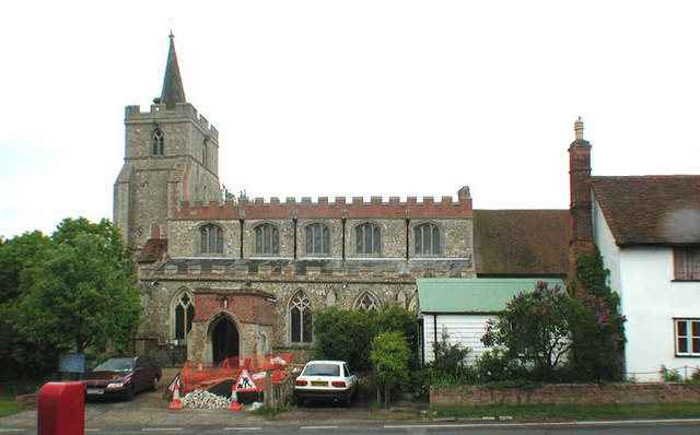 St Mary the Virgin, Stebbing, Essex