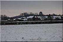 SO8843 : Dunstall Farm in Winter by Philip Halling