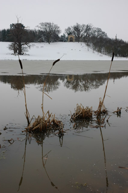 Croome River in winter