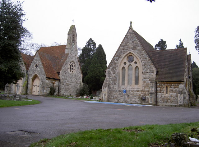 Chapel within Hillingdon & Uxbridge Cemetery