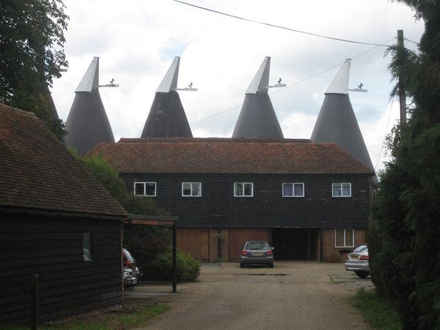 Ploggs Hall Oast, Whetsted Road, near Five Oak Green, Kent