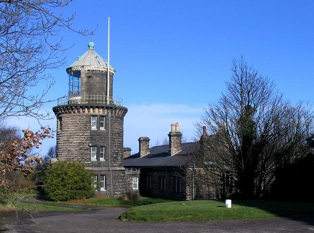 Old lighthouse at Bidston Hill