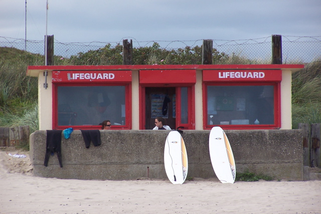 Lifeguard Station, Portraine, County Dublin, Ireland
