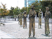 O1634 : Another view of the Famine Memorial by ceridwen