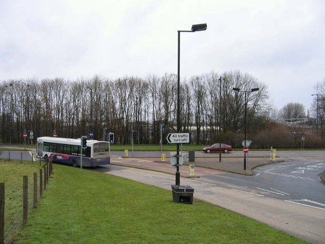 Park And Ride Road Junction