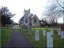 ST9929 : The Church of St George, Fovant by Maigheach-gheal
