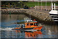 "J5082 : The ""Capitella"" at Bangor by Albert Bridge"