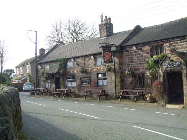 The Stafford Arms Public House, Bagnall