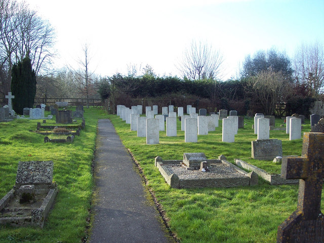 War Graves at St George's Church, Fovant