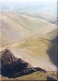 NY3228 : Sharp Edge & the Glenderamackin Valley by Gordon Hatton