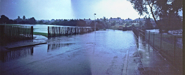 Pool River in Flood - 1968