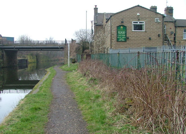 The Perseverance on the Calder & Hebble Navigation Canal
