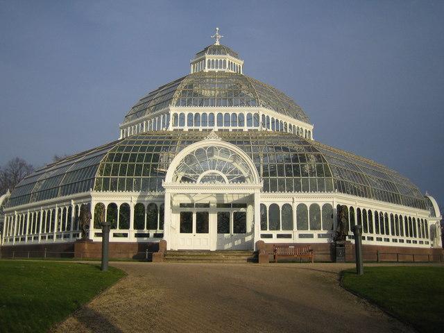 Liverpool: The Palm House, Sefton Park, L17