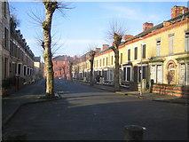 SJ3688 : Liverpool: Ducie Street, Princes Park, L8 by Nigel Cox