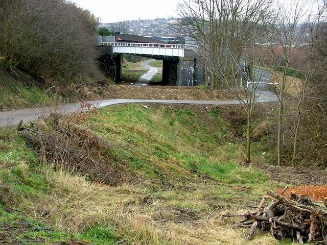 The Calder Valley Greenway & Dalton Bank Road