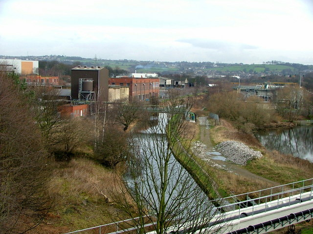 View from the Bradley Viaduct