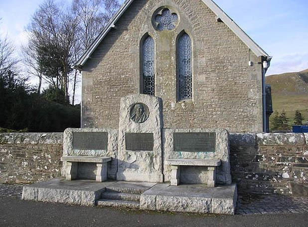 The Thomas Telford memorial at Bentpath