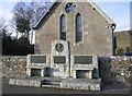 NY3090 : The Thomas Telford memorial at Bentpath by Walter Baxter