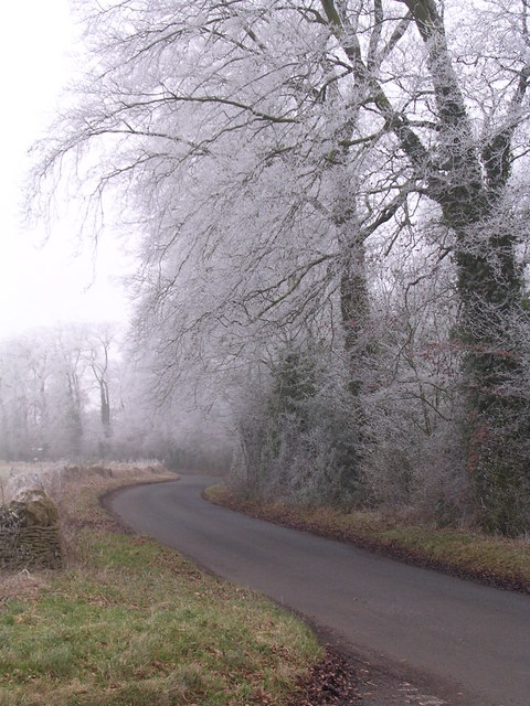 Lane on a winter's day